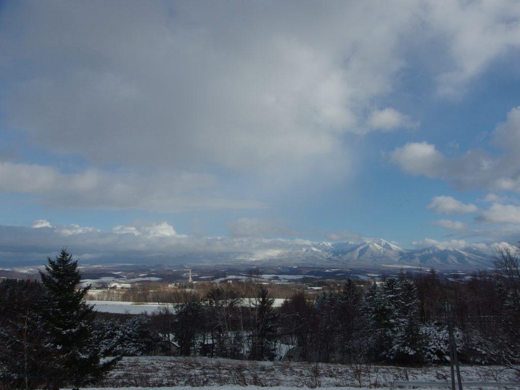 あっと言う間に外はもう冬景色です。