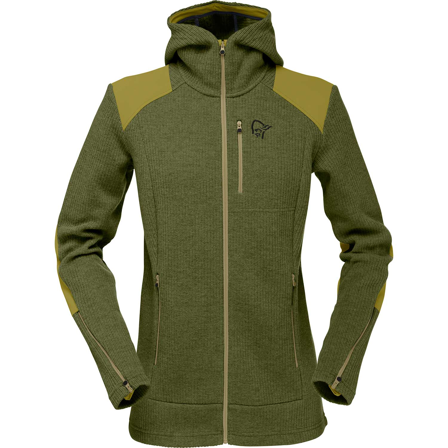 tamok warm/wool2 Zip Hood (W)