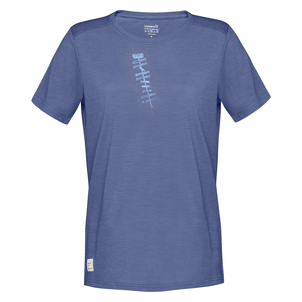 svalbard wool T- Shirt (W)