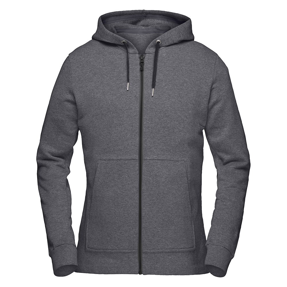 oslo cotton/wool Zip Hood (W)