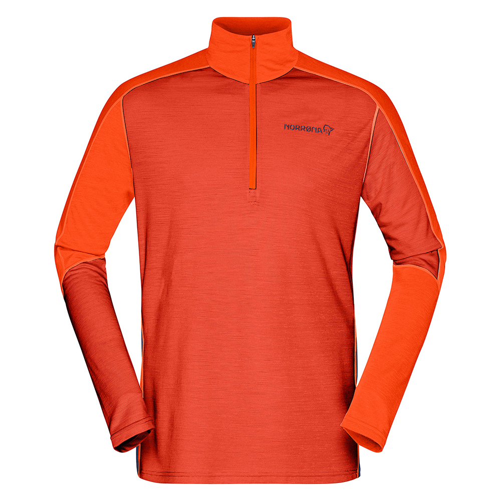 equaliser merino Zip Neck  (M)
