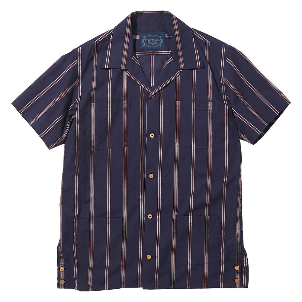 Open Collar SS Shirt