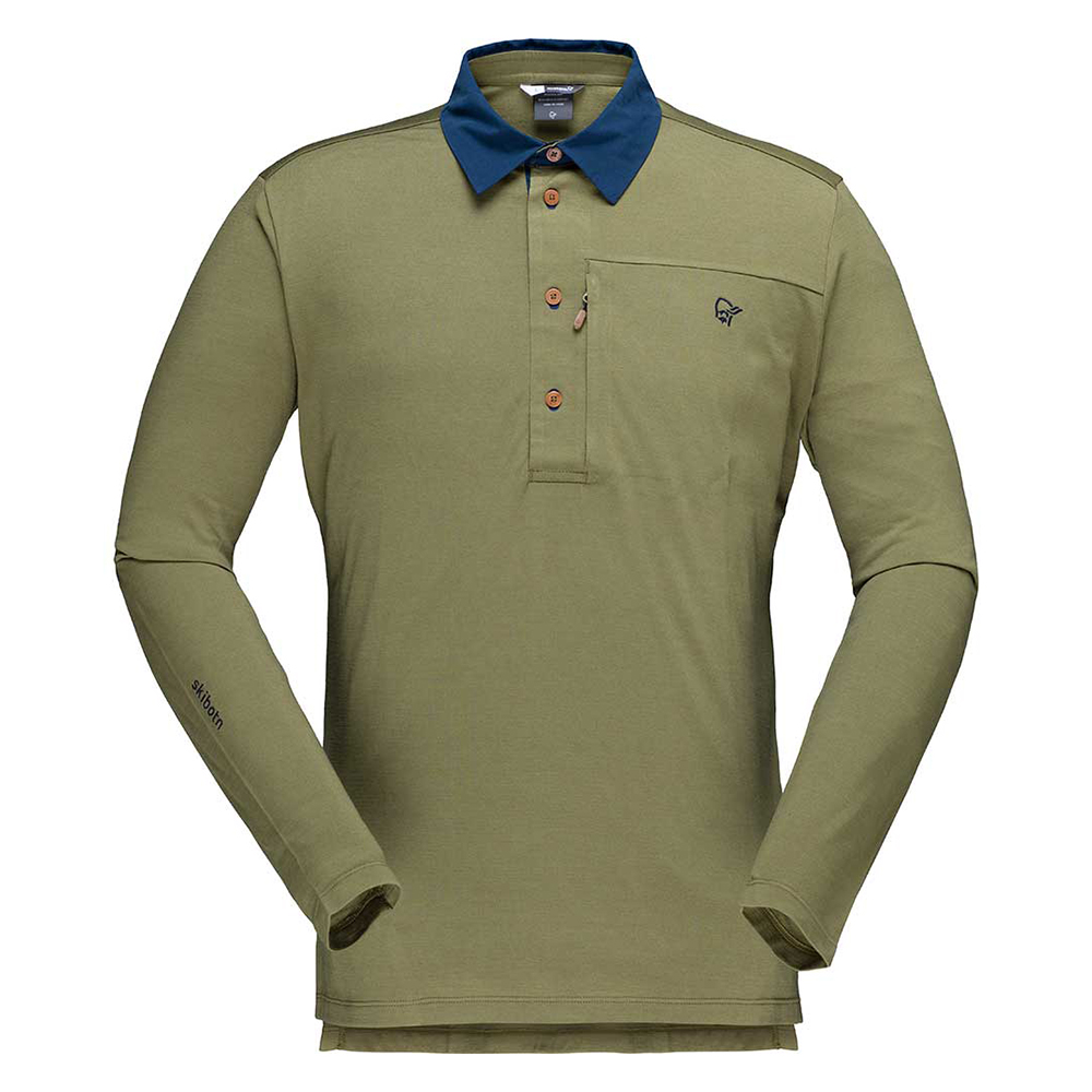 skibotn wool Polo Long sleeve (M)
