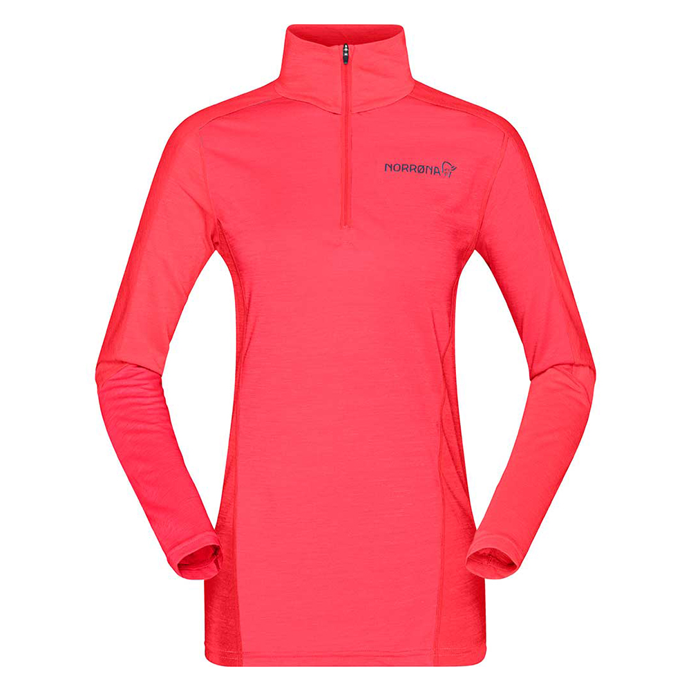 equaliser merino Zip Neck (W)