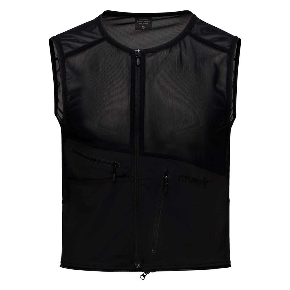 ski/snowboard zip-in vest (M)
