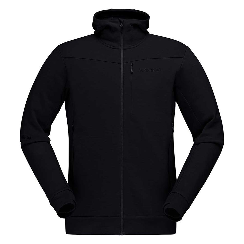 falketind warmwool2 stretch Zip Hood (M)