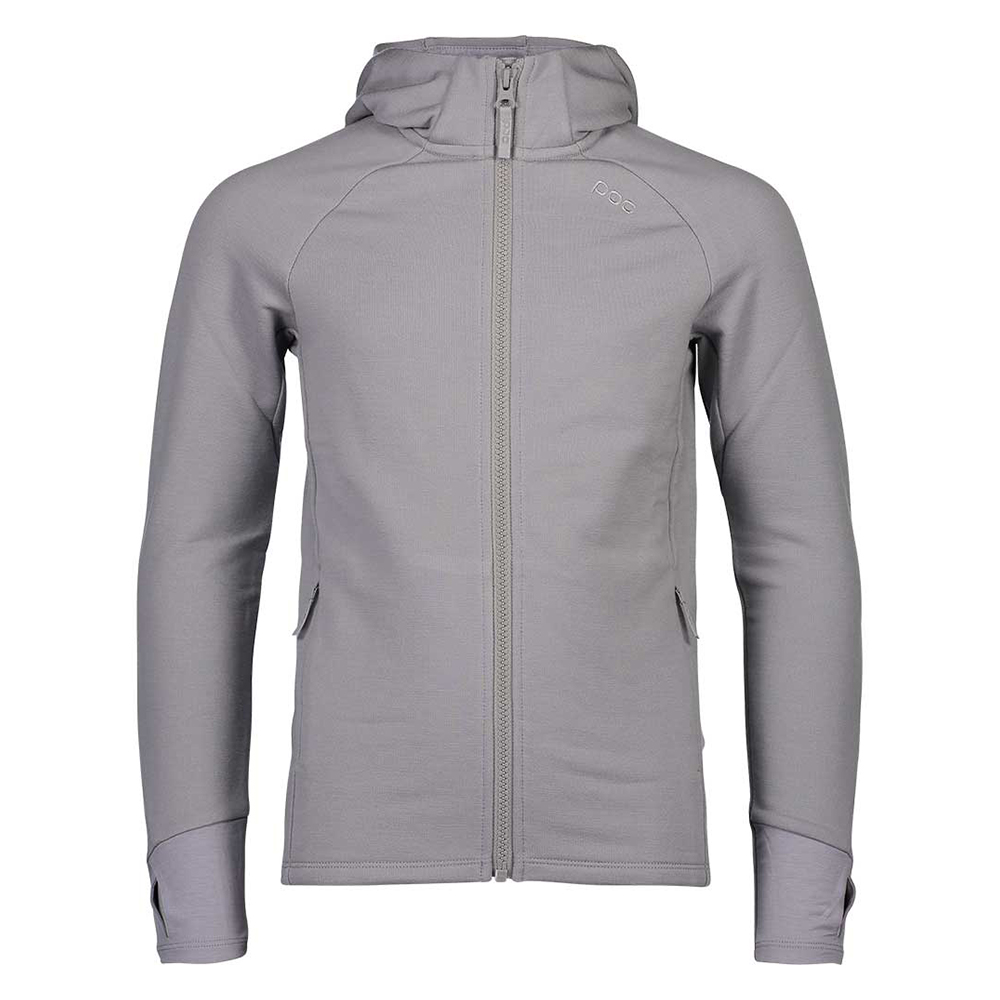 Merino Zip Hood Jr