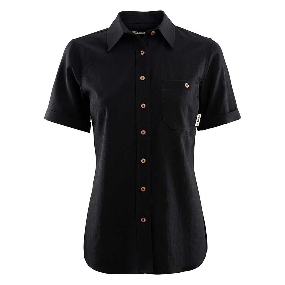Woven Short Sleeve Wool Shirt [W]